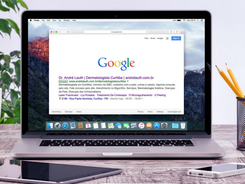 Anúncios para médicos no google Curitiba
