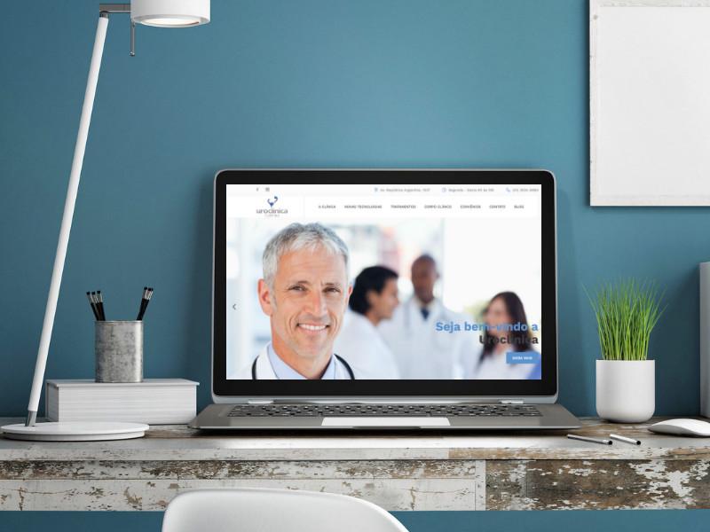 Site para médicos Curitiba
